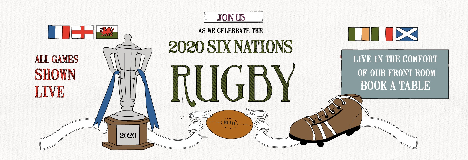 Six Nations at The Falcon