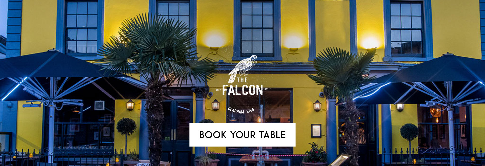 Book Your Table at The Falcon